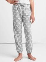 Gap Heart jacquard PJ pants