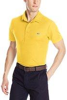 Lacoste Men's Golf Short Sleeve Textured Polo Shirt