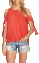 1 STATE Women's 1.state Cold Shoulder Blouse
