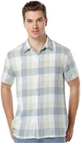 Perry Ellis Men's Big and Tall Buffalo-Check Shirt