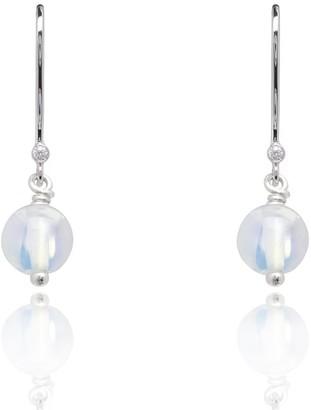 Kaizarin October Birthstone Earrings In Opal