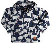 Mini Rodini Hippo Waterproof Windbreaker Jacket