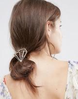 Orelia Diamond Outline Hair Clip