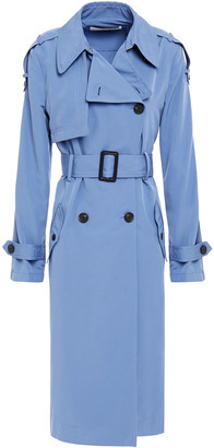 Diane von Furstenberg Woven Trench Coat