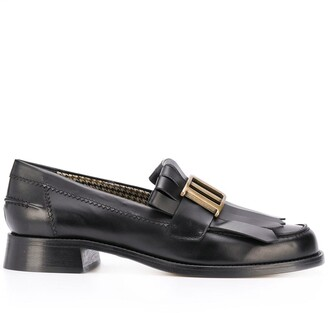 DSQUARED2 Buckle-Detail Slip-On Loafers