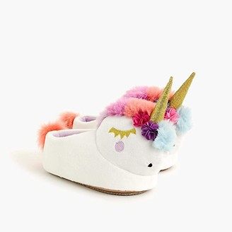 crewcuts by J.Crew Unicorn Slipper (Toddler/Little Kid/Big Kid) (Unicorn Multi) Girl's Shoes