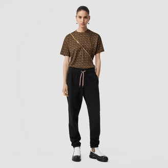 Burberry Monogram Print Jersey Oversized T-shirt