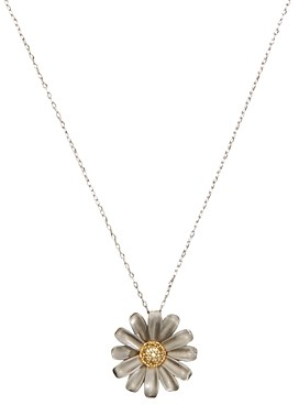 Kate Spade Into the Bloom Flower Pendant Necklace, 17