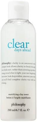 philosophy Clear Days Ahead Mattifying Clay Toner