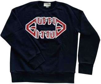 Gucci Black Cotton Knitwear & Sweatshirts