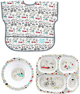 Bumkins Urban Bird Junior Bib Plate & Bowl Set