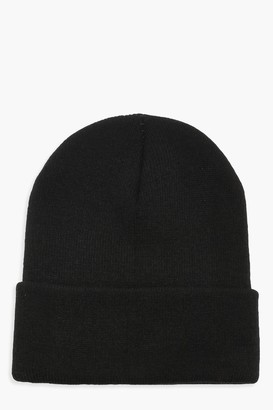 boohoo Basic Knitted Beanie