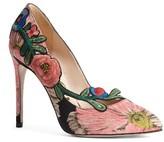 Gucci Women's Ophelia Floral Pump