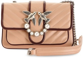 Pinko Quilted Crossbody Bag