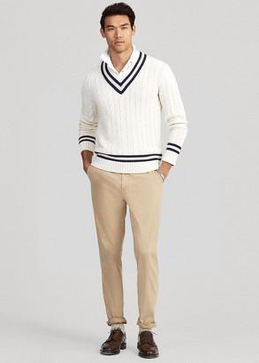Ralph Lauren Pink Pony Cricket Sweater