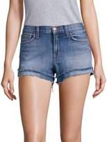 J Brand Sachi Bleached Frayed Denim Shorts