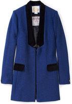 Yvette Velvet Trim Jacket