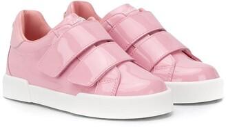 Dolce & Gabbana Portofino touch-strap sneakers