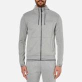 BOSS GREEN Men's Saggy Zipped Hoody Grey