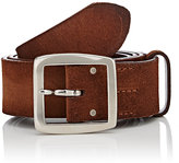 Felisi Men's Brushed Suede Belt