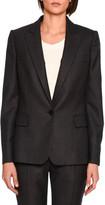 Stella McCartney Ingrid Single-Breasted Jacket, Charcoal