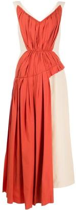 Marni Gathered Midi Dress