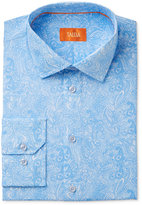 Tallia Men's Fitted Printed Paisley Dress Shirt