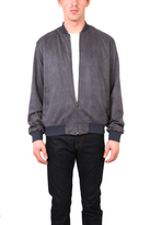 Shades of Grey Ultrasuede Bomber Jacket