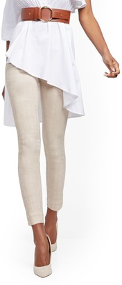 New York & Co. Tall Whitney High-Waisted Pull-On Ankle Pant - Tan
