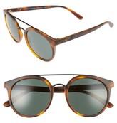 Burberry Women's 53Mm Round Sunglasses - Matte Havana