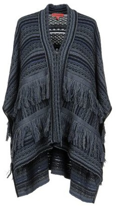 Manila Grace Denim DENIM Capes & ponchos