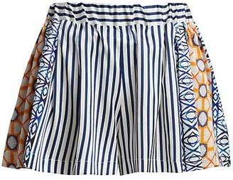 Silvia Tcherassi Eden Stretch-Silk Shorts