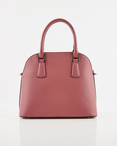 Le Château Faux Leather Satchel