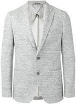 HUGO BOSS classic blazer - men - Cotton/Linen/Flax/Spandex/Elastane/Polyimide - 50