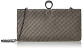 Jessica McClintock Bailey Ball Mesh Jeweled Ring Clutch