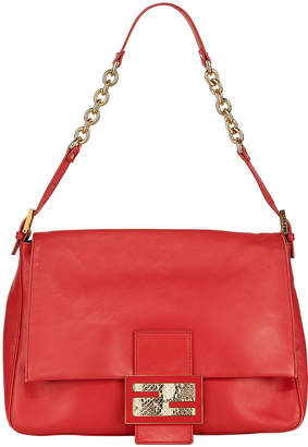 Fendi Forever Mama Leather Shoulder Bag