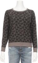 Sundry Heart Stamp Pullover Sweatshirt