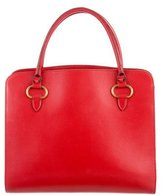 Delvaux Small Leather Tote