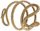 Roberto Cavalli snake arm cuff bracelet