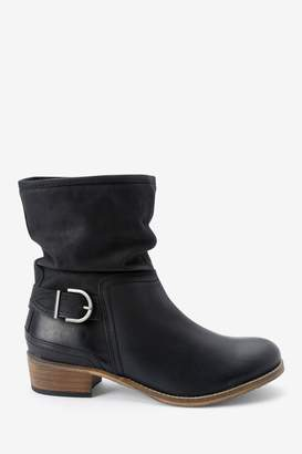 Next Womens Black Forever Comfort Ankle Boots - Black