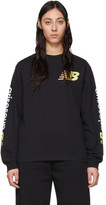 Aries Black New Balance Edition Long Sleeve T-Shirt
