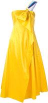 Peter Pilotto taffeta corset dress - women - Silk/Polyester - 8