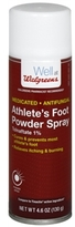 Walgreens Athlete's Foot Antifungal Powder Spray