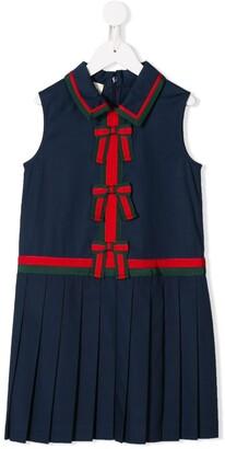 Gucci Kids Bow Detail Dress