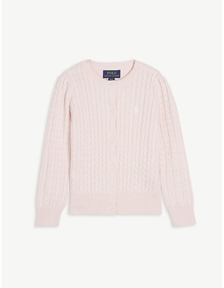 Ralph Lauren Cable-knit cotton cardigan 2-14 years