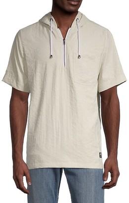 Ezekiel Austin Short-Sleeve Pullover Hoodie