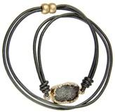 Saachi Crystal Wrap Bracelet.