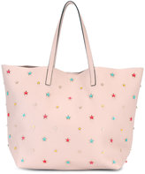 RED Valentino star stud shopper tote - women - Calf Leather - One Size