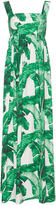 Dolce & Gabbana Palm Leaf Maxi Dress