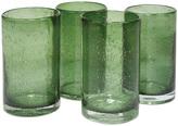 Artland Sage Iris Highball Glass - Set of Four